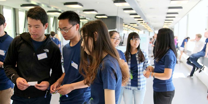 Chinese SDC student at Green Challenge. Photo: Lotte Grandorf