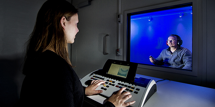 Pure-tone audiometry - Hearing Systems (Foto: Joachim Rode)