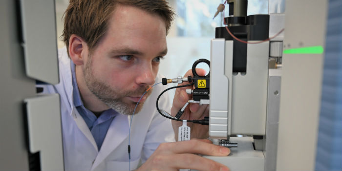 Erwin Schoof Head of Proteomics Core at DTU Bioengineering. Photo: Peter Aagaard Brixen.